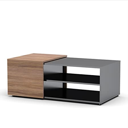 Next Coffee Table 600736 from Nexera, Black and Walnut