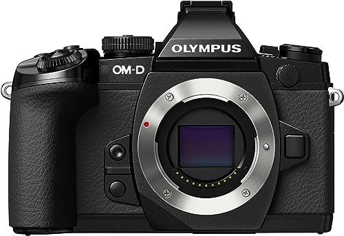 Olympus OM-D E-M1 16MP HD DSLR w/Body Lens
