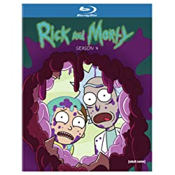 Rick and Morty: S4 [Blu-ray]