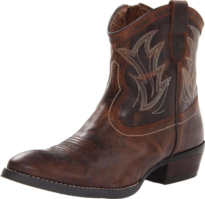 Women's Western Boots With Zipper 109