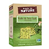 Back to Nature Non-GMO Crackers, Kale and Sea Salt, 6.5 Ounce