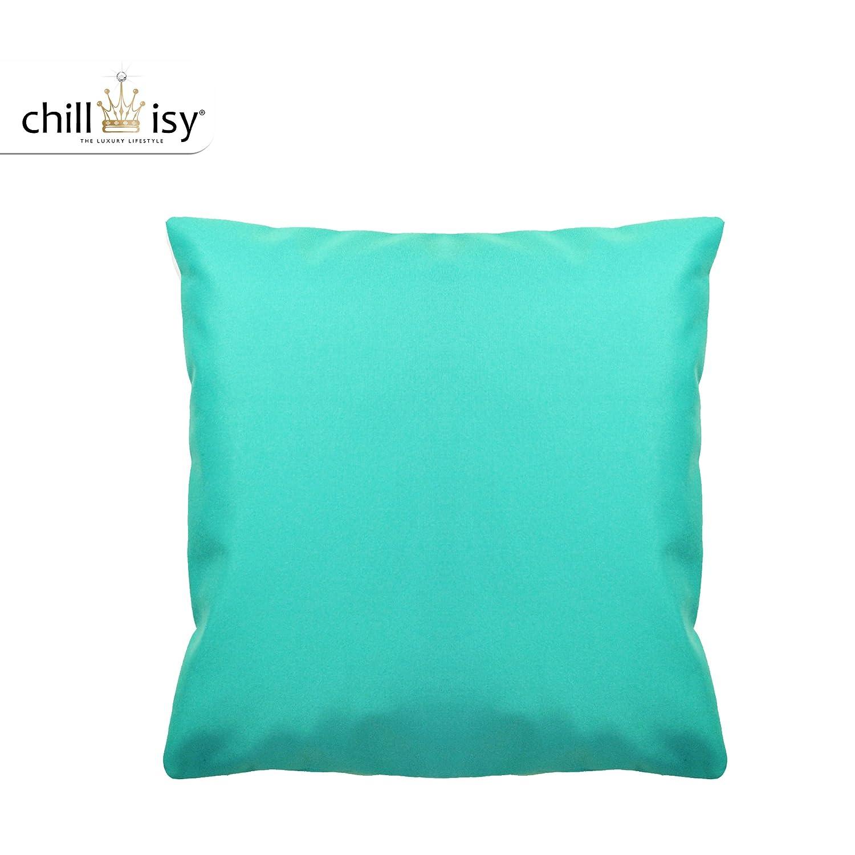 Outdoor Kissen sonnenresistent 60×60 cm türkis, witterungsbeständig farbecht bestellen