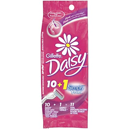 Amazon - Gillette Daisy Comfort Hold Pivot Disposable Razor - $4.51