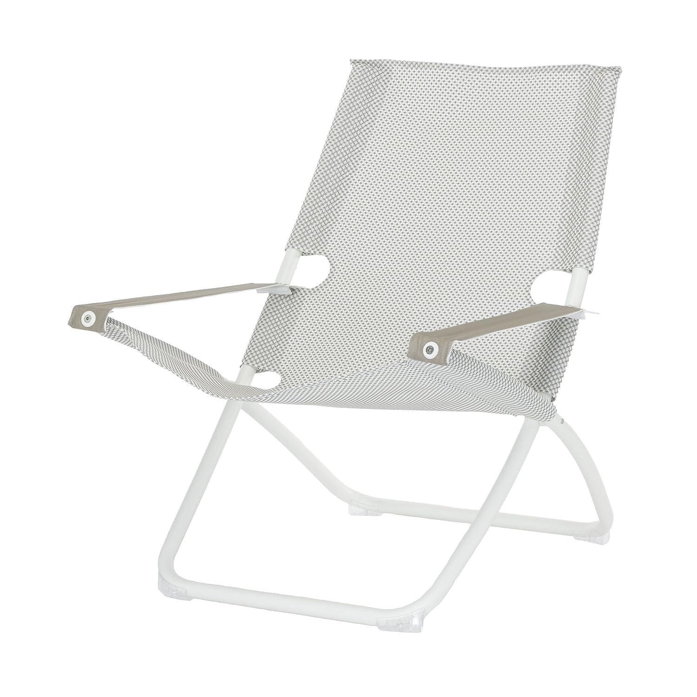 Snooze Liegestuhl weiß/ghiaccio kaufen