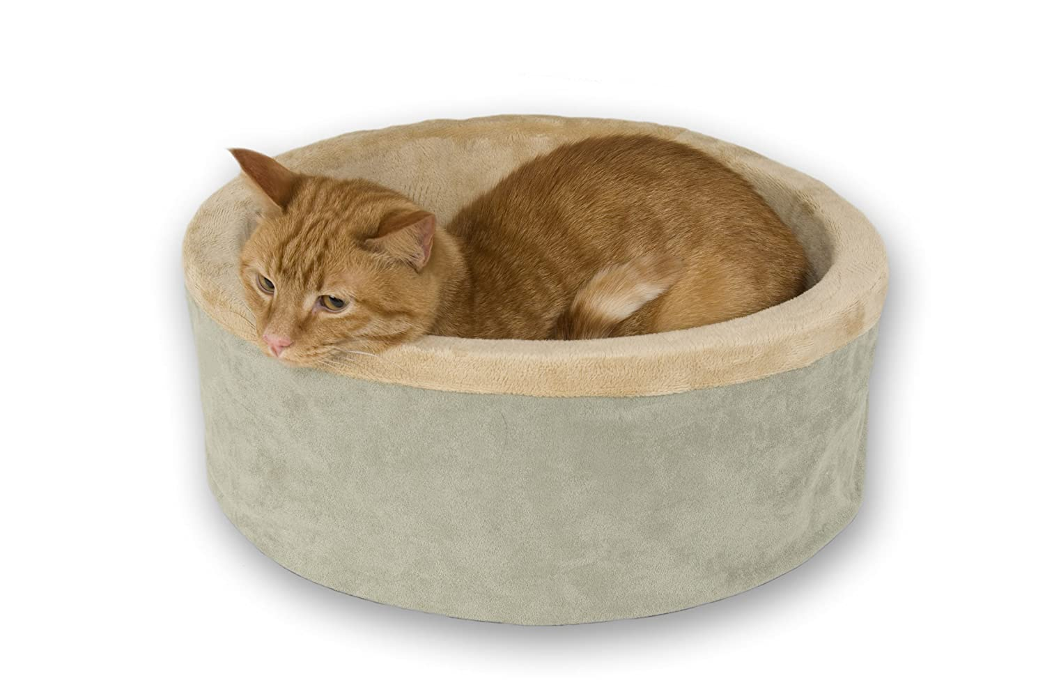 k h thermo kitty heated cat bed cat love. Black Bedroom Furniture Sets. Home Design Ideas