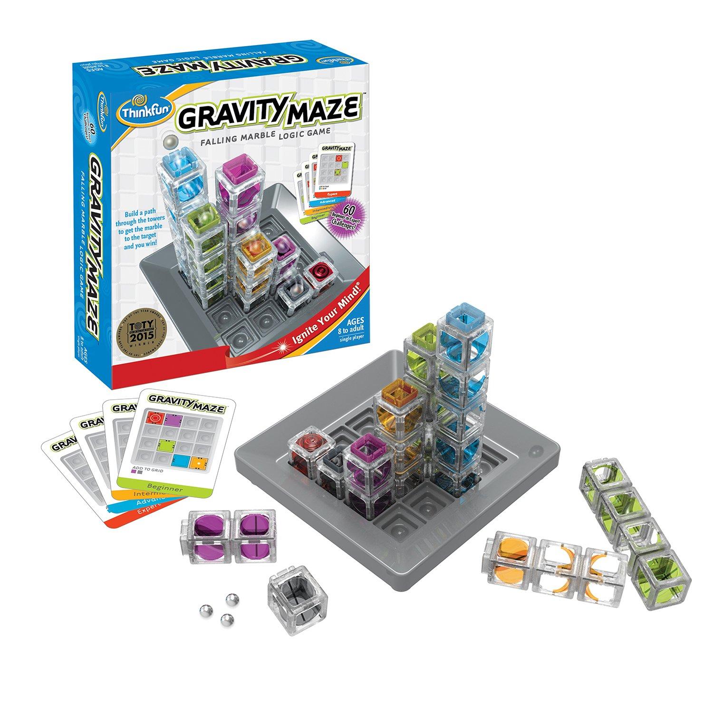 Gravity Maze - a falling marble logic game