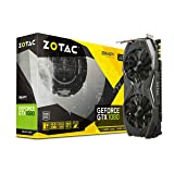 ZOTAC GeForce GTX 1080 AMP! Edition, ZT-P10800C-10P, 8GB GDDR5X IceStorm Cooling, Metal Wraparound Carbon ExoArmor exterior, Ultra-wide 100mm Fans Gaming Graphics Card (Certified Refurbished)