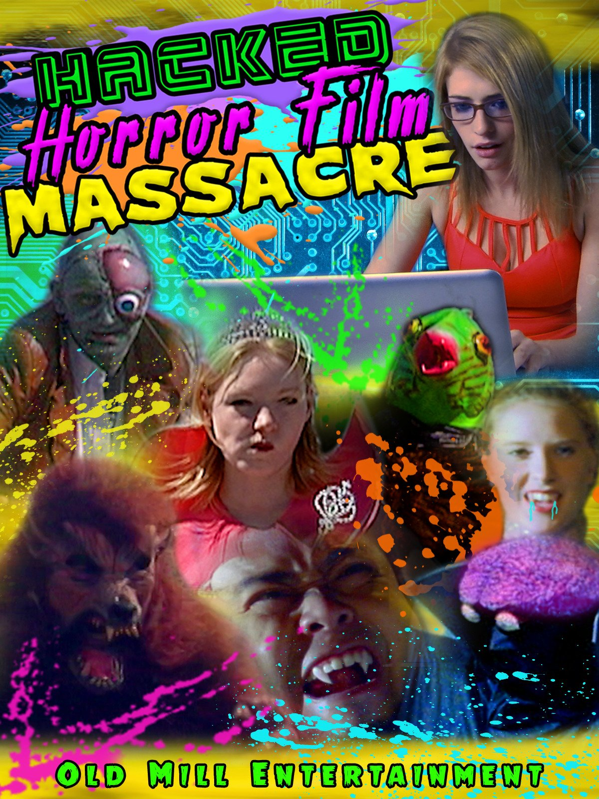 Hacked Horror Film Massacre