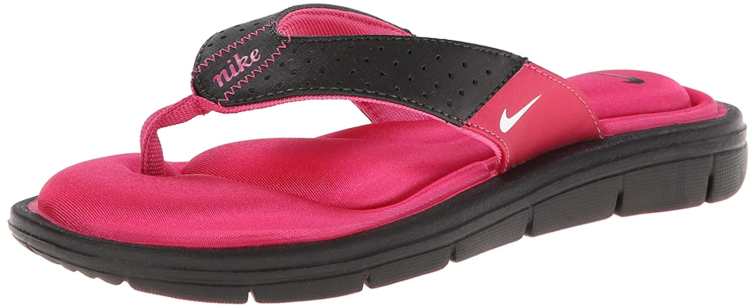 Nike Women's Comfort Thong Sandal side bowknot embellished plus size sweatshirts page 1