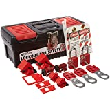 Brady Personal Breaker Lockout Tagout Electrical Safety Toolbox Kit - 105964