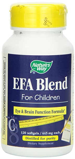 Отзывы Nature's Way Efa Blend For Children
