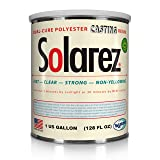SOLAREZ UV Cure Clear Casting Resin (Gallon) for DIY Jewelry, Hobby, Craft Decoration Making - Crystal Clear Solar Cure Molding and Casting Resin (Tamaño: 4 Sizes)