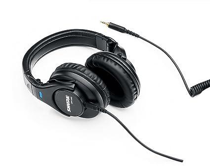 Shure SRH440 Professional Studio Headphones Black