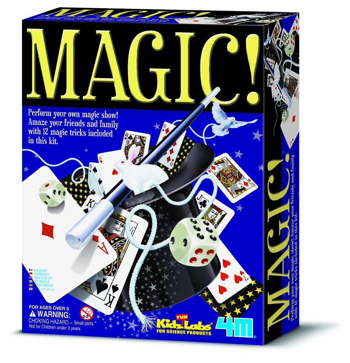 Kidz Labs Magic Set with 12 Tricks