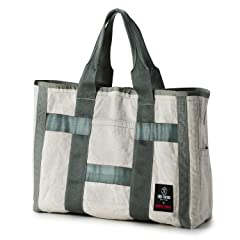Todd Snyder x Briefing Cotton Fleece Tote Bag: Grey