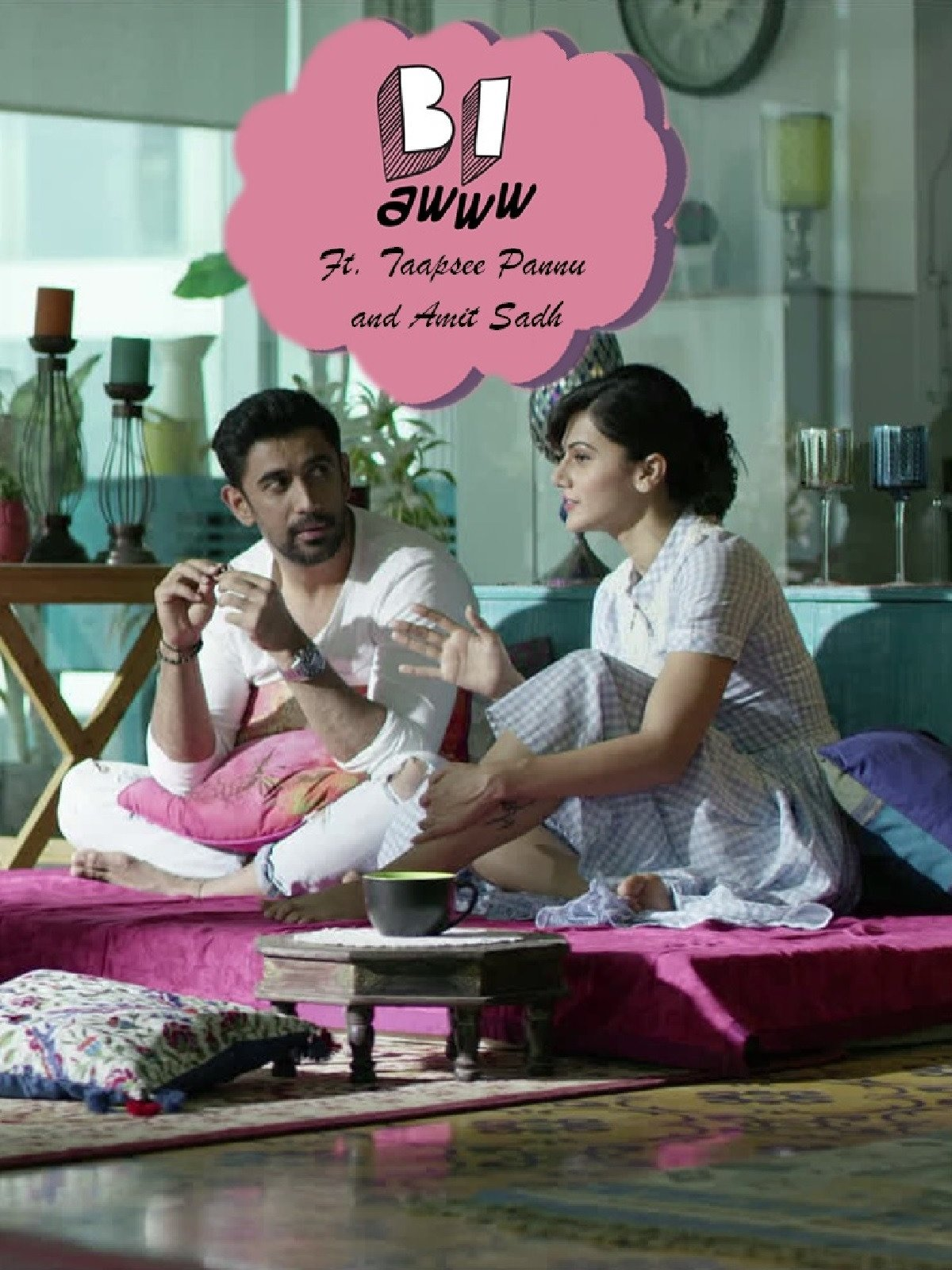 Clip: BI Aww Ft. Taapsee Pannu and Amit Sadh on Amazon Prime Video UK