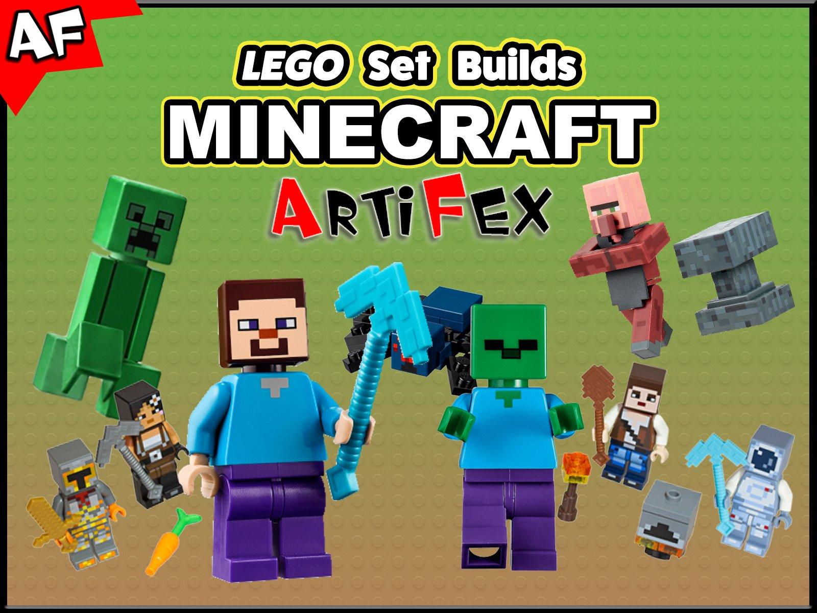 Clip: Lego Set Builds Minecraft - Season 2