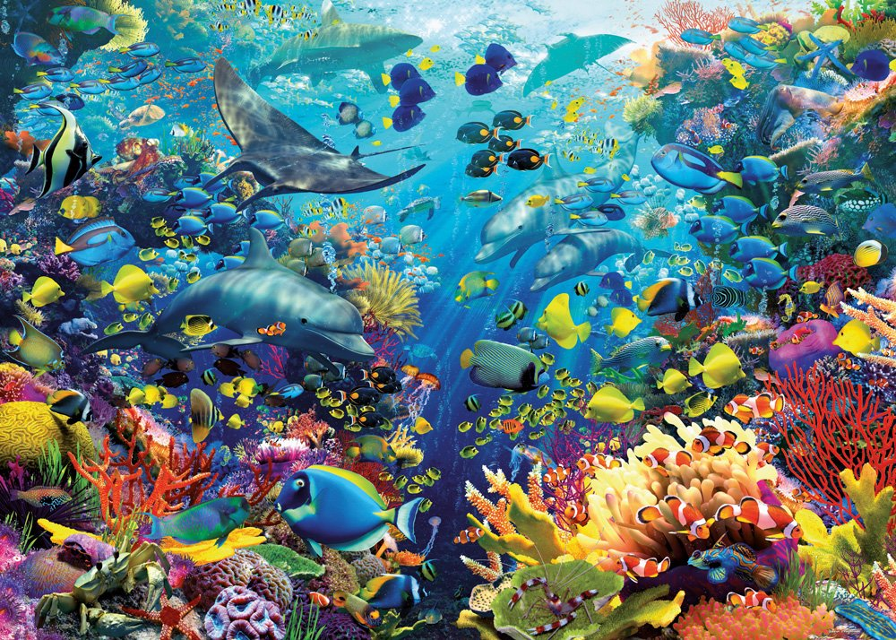 Underwater Paradise puzzle Ravensburger 9000