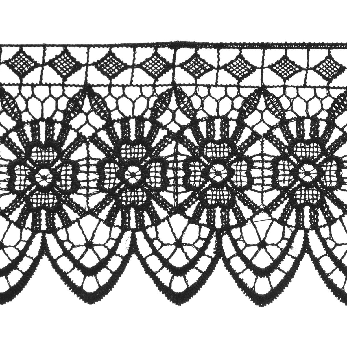 Wrights Venice Lace, 2-3/4-Inch by 15-Yard, Black светильник потолочный book the wright led