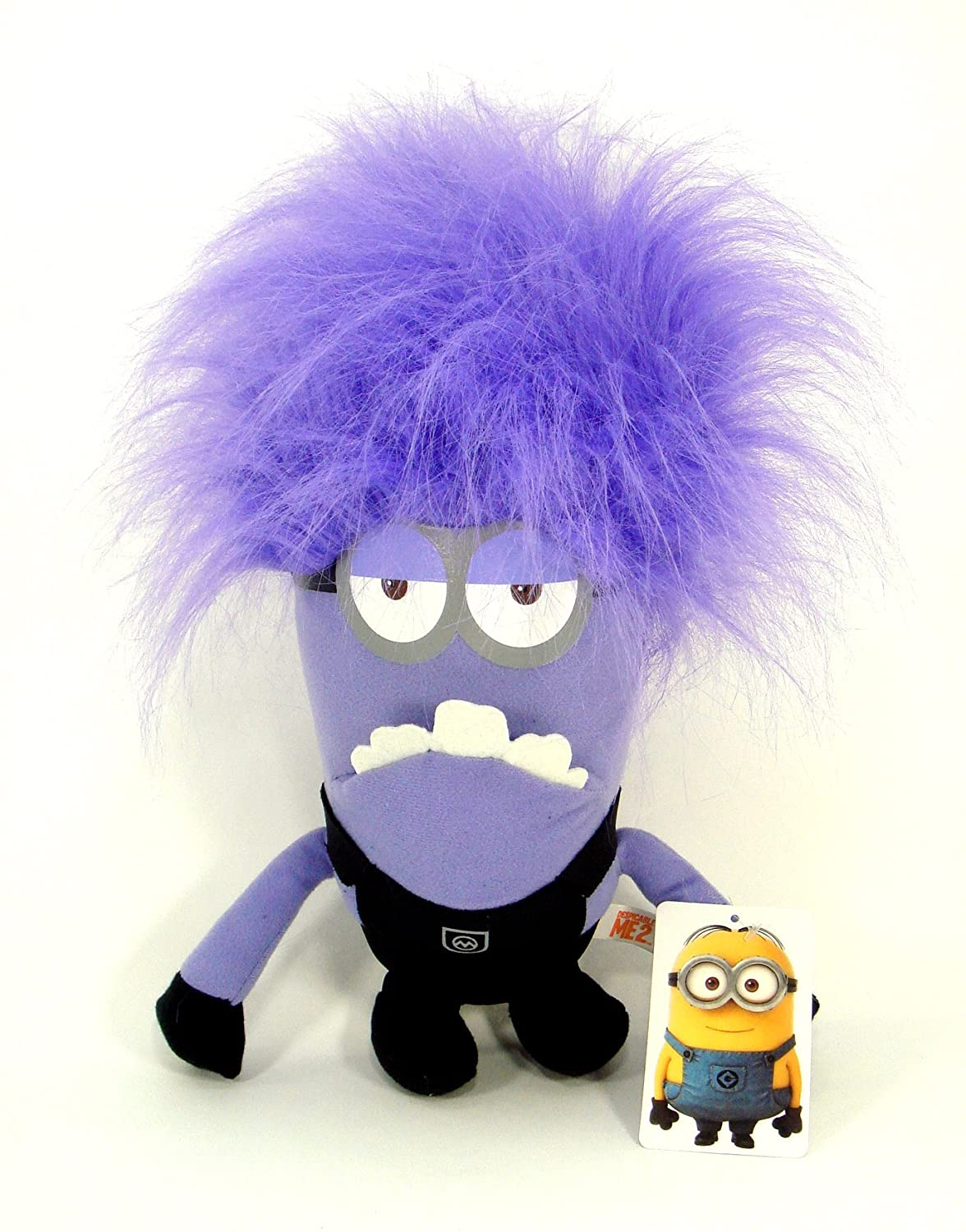 Evil Two Eyed Purple Minion