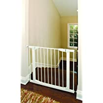 Munchkin Auto-Close Metal Gate White