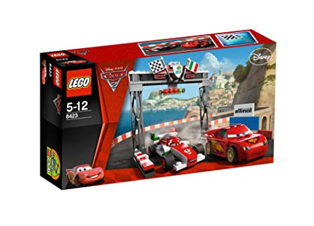 LEGO Cars - 8423 - Jeu de Construction - World Grand Prix