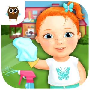 Sweet Baby Girl Clean Up - Do Laundry, Wash Dishes, Clean the Bathroom and Tidy the Bedroom - Mop, Wipe, Vacuum and Scrub to Fix the Messy Home from TutoTOONS