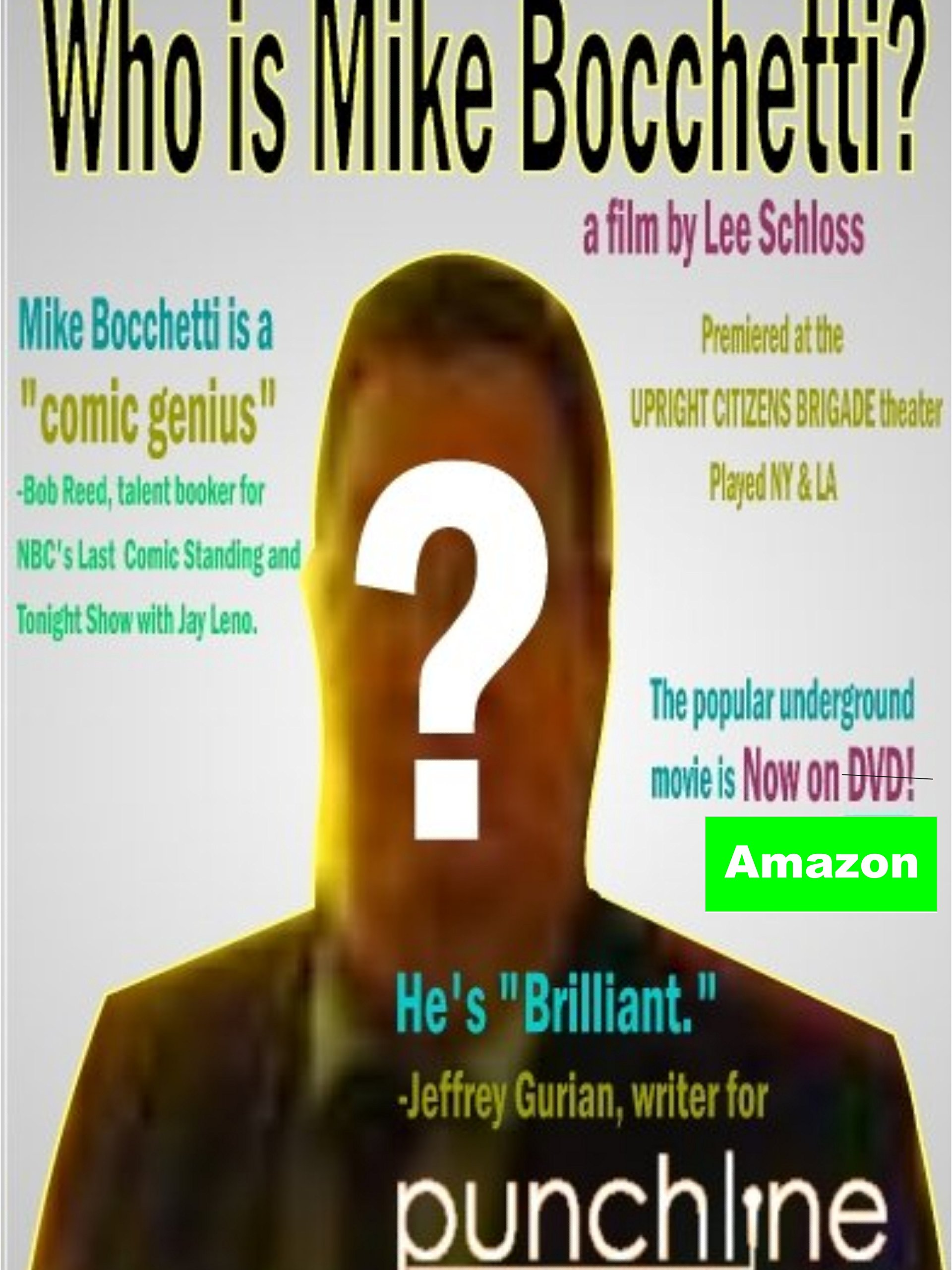 Who is Mike Bocchetti? on Amazon Prime Instant Video UK