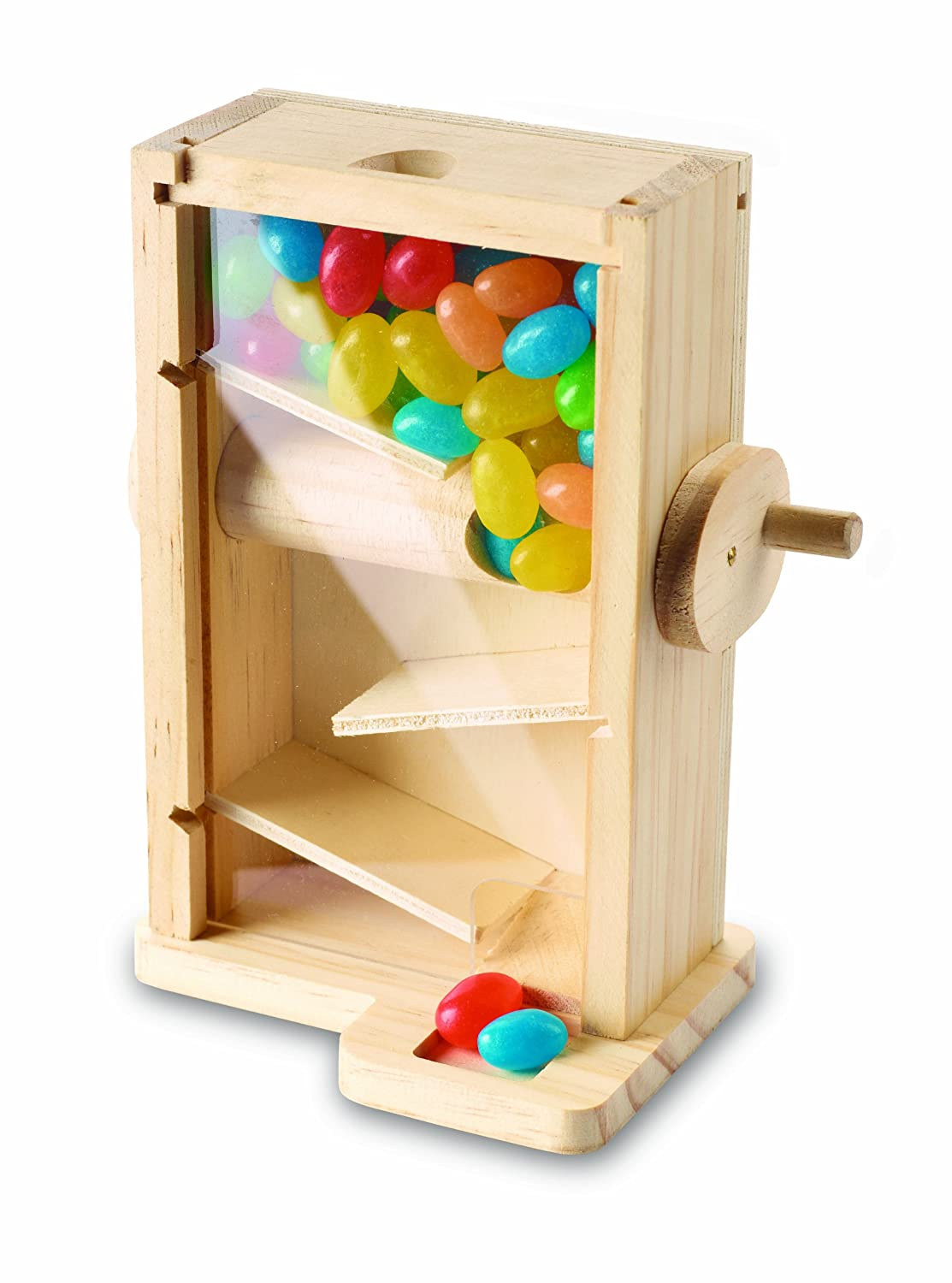 Gumball dispenser wooden candy machine by ...