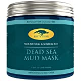 (9.2 oz) Dead Sea Mud Mask for Face and Body - 100% Natural Spa Quality - Perfect Pore Minimizer, Deep Skin Cleanser, Reduces Acne, Blackheads and Oiliness for a Tighter Skin and Healthier Complexion (Tamaño: 9.2 oz)