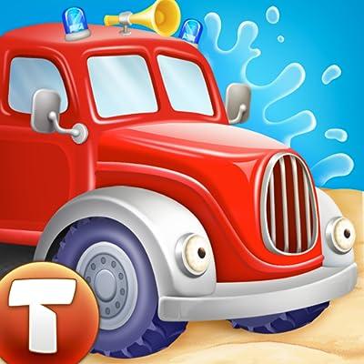 Feuerwehrautos: 112 Rettung (Bildungsapp für Kinder)