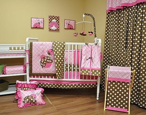 Ladybug Crib Bedding Tktb