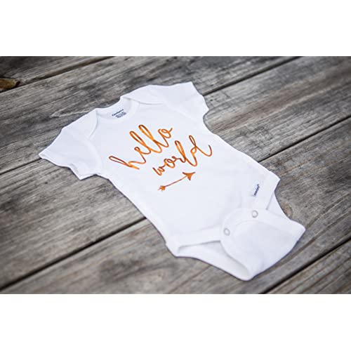 Newborn Onesie Hello World Photo Outfit for Newborn Baby Babies Outfit Unisex