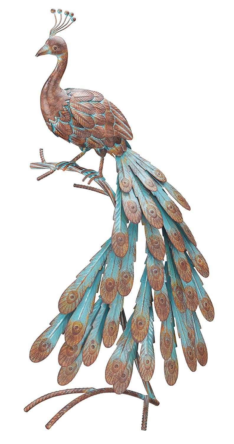 Peacock Statues