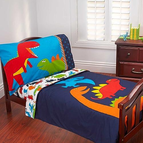 Carters 4 Piece Toddler Bed Set Prehistoric Pals