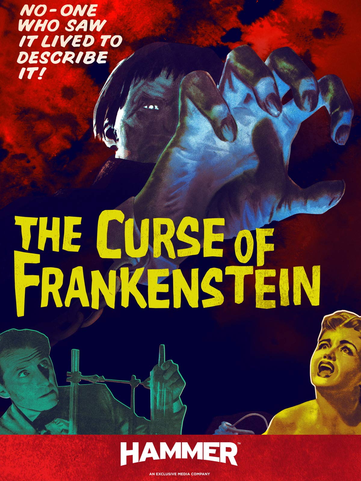 The Curse Of Frankenstein on Amazon Prime Video UK