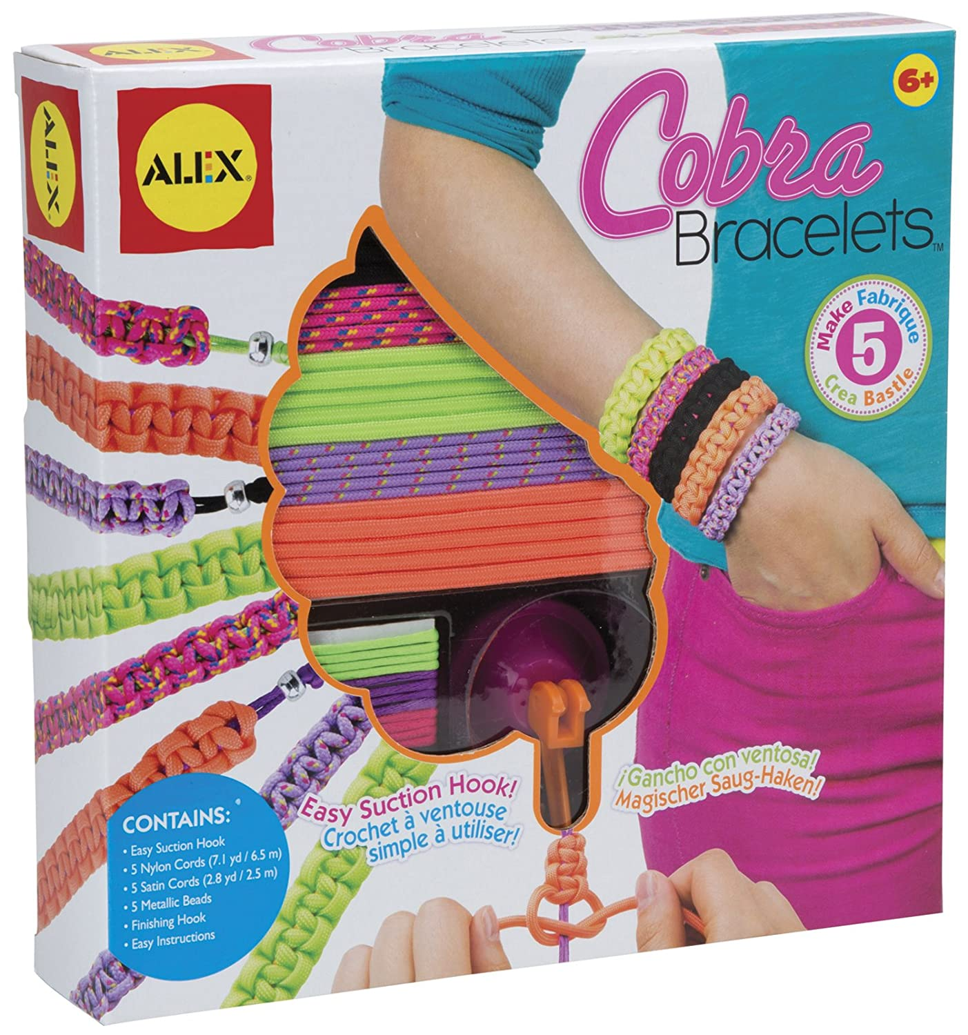 Do-it-Yourself Wear! Cobra Bracelets Craft Kit