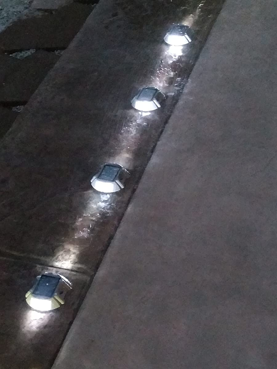Solar Deck Lights LEDs
