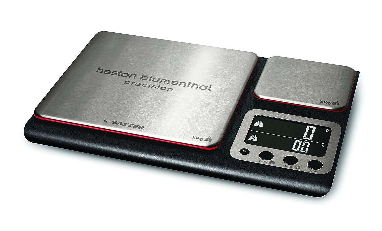 Salter Heston Blumenthal Dual Platform Stainless Steel Scale