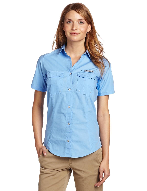 Amazon.com : Columbia Women's Bonehead Short Sleeve Shirt : Button Down Shirts