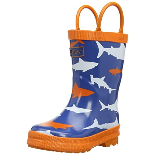 Hatley Big Boys Rainboots -Sharks
