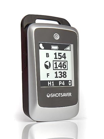 Shotsaver GPS de golf Argent/noir Taille S
