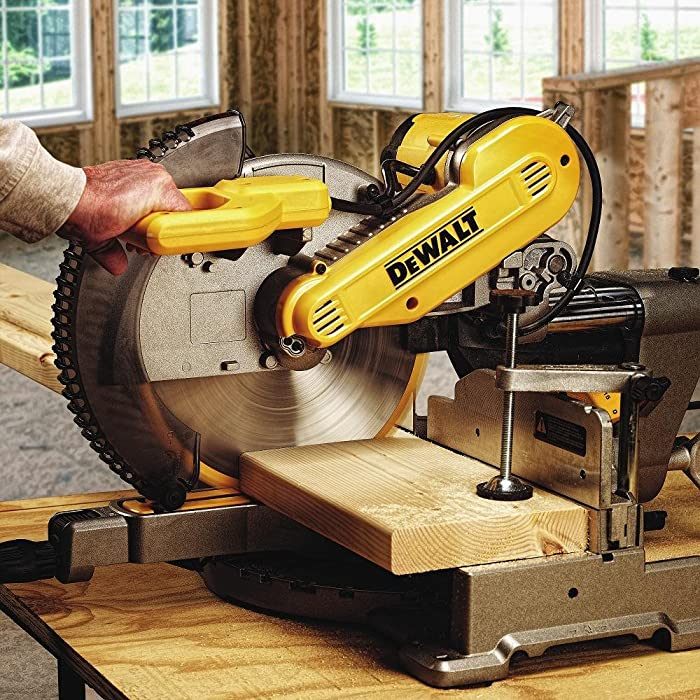 DEWALT DWS709 Slide Compound Miter Saw via Amazon