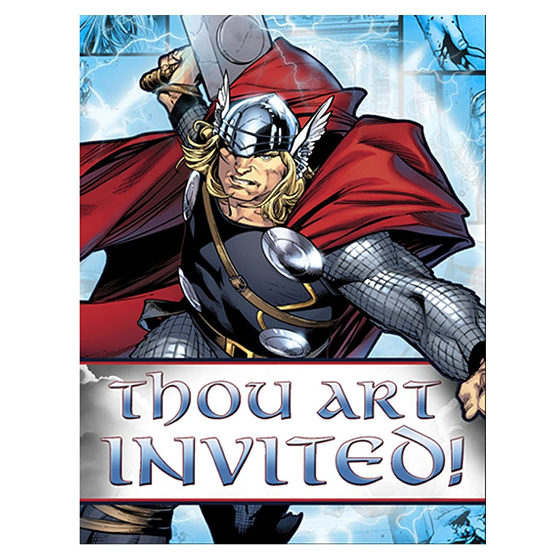 Thor Invitations