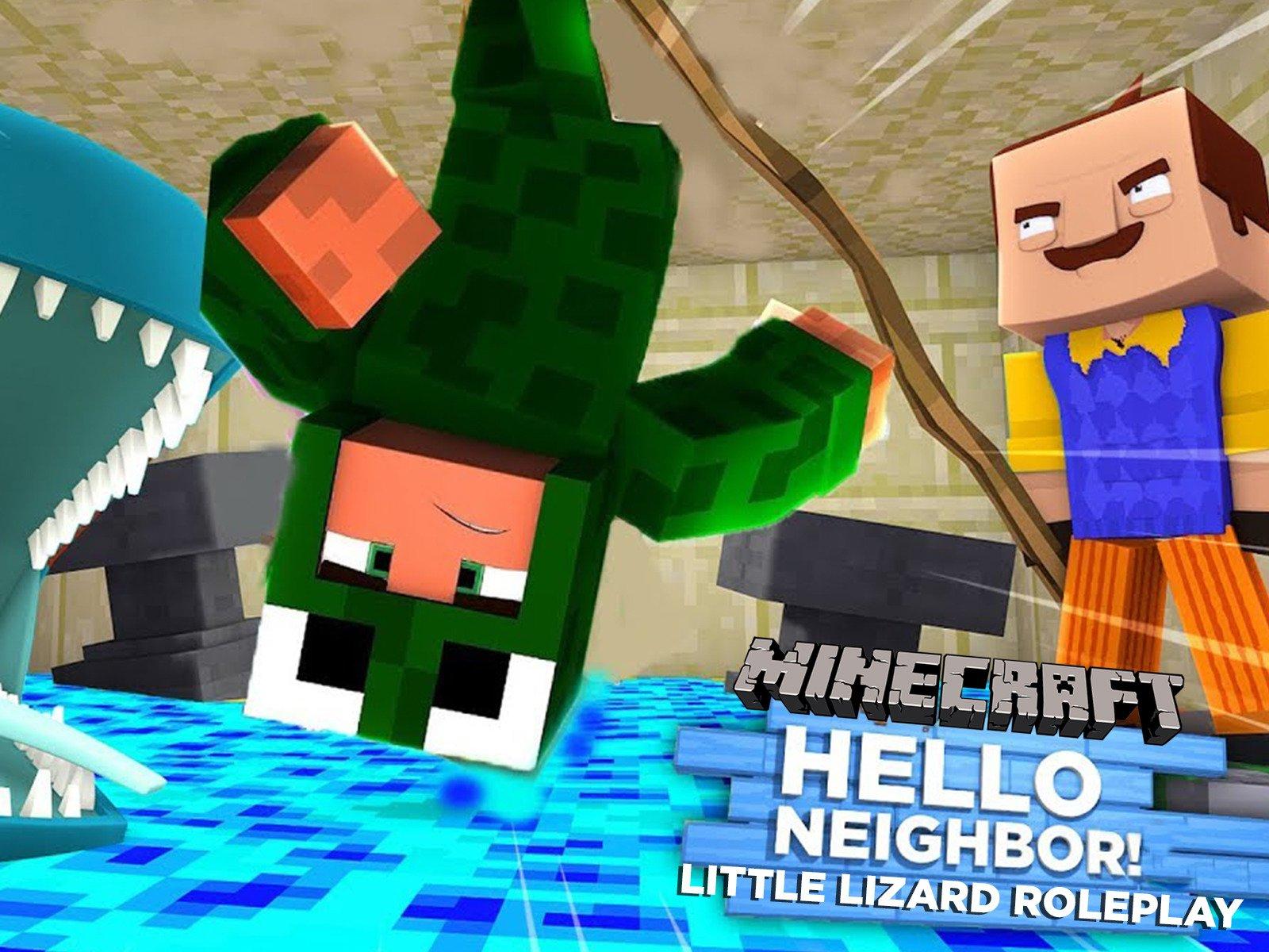 Minecraft Hello Neighbor