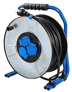 as  Schwabe 20320 Iron Coat ProfiMetallKabeltrommel, 40Meter, 230 V, 16 A, Gewerbe / Baustelle  BaumarktÜberprüfung und Beschreibung