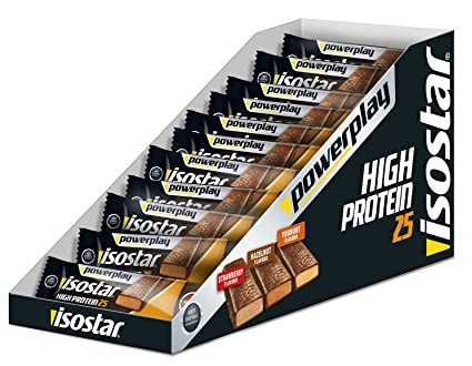 Isostar High Protein 25 Bar Box 30 Riegel 35g Joghurt