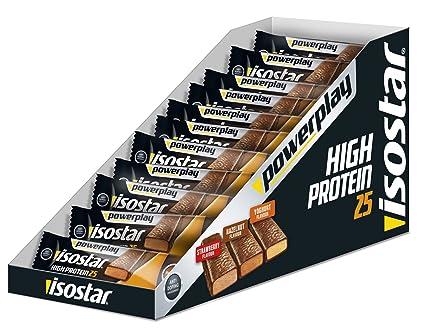Isostar High Protein Eiweissriegel 30x Riegel 35g Haselnuss