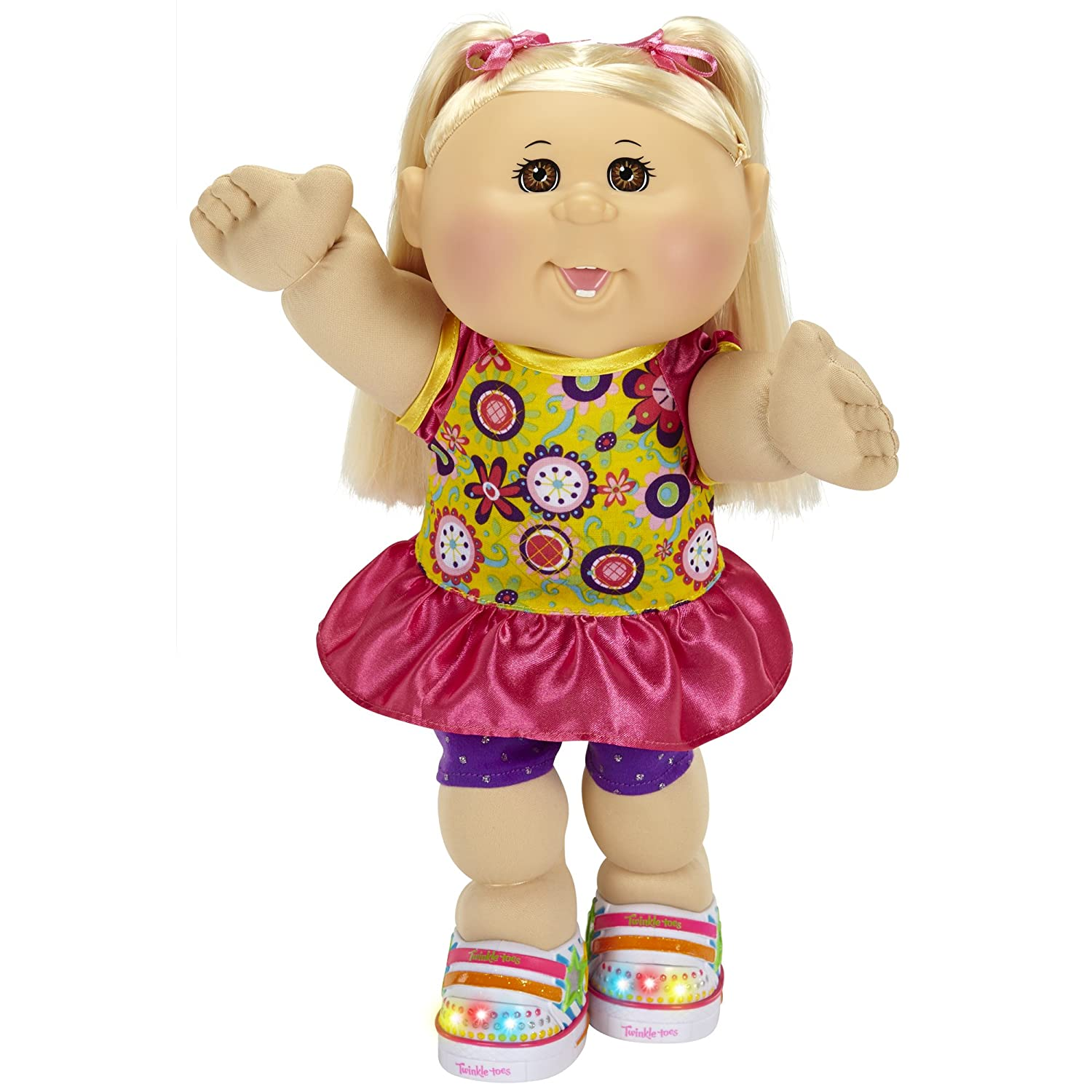 Twinkle Toes Cabbage Patch doll with blonde hair