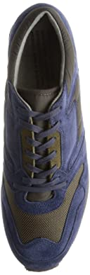British Trainer 1800FS: Navy / Olive
